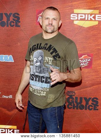 Chuck Liddell at the Spike TV's 2nd Annual
