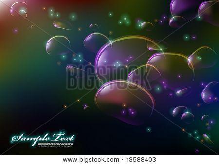 Vector Dreamy Bubbles