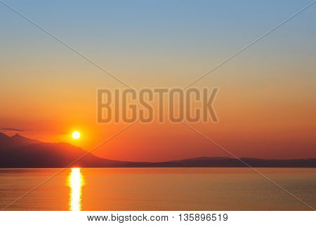 Sunrise At Strymonikos Gulf