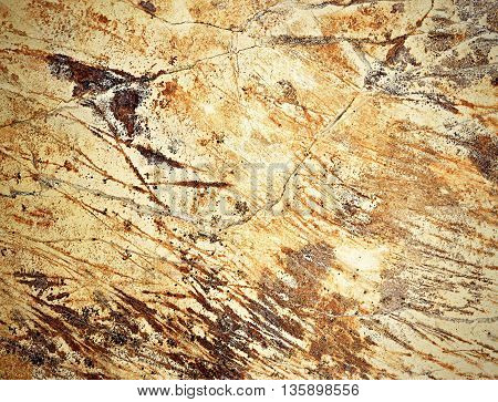 abstract background or texture detail limestone stone with grooves
