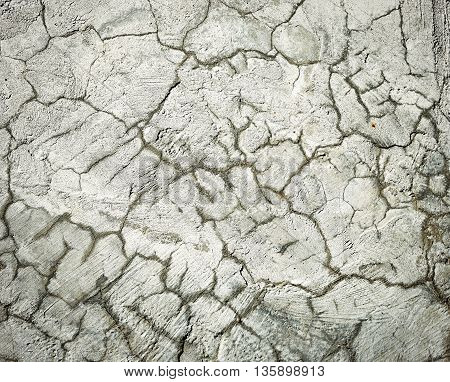 abstract background or texture cracked surface cement plasters