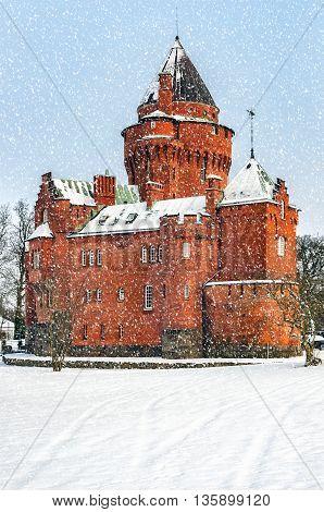 Hjularod slott is a castle in Eslov Municipality Scania in southern Sweden.