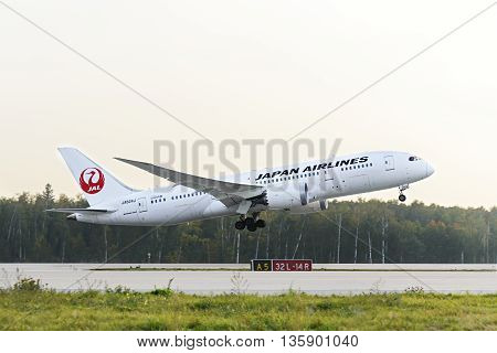 Japan Airlines Boeing 787 Dreamliner Taking Off