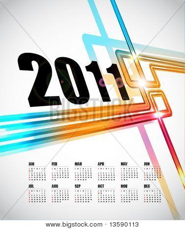Diseño de calendario 2011