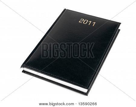2011 Animador negro sobre blanco