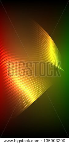 Presentation Design Vertical Banner Flyer Layout Background44