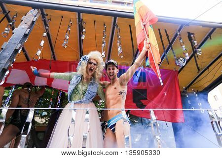 5Th Gay Pride Festival In Thessaloniki.