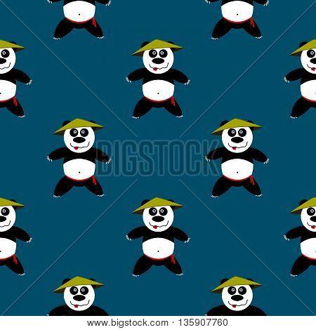Seamless Pattern Panda