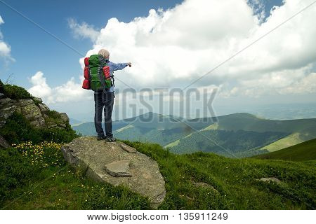 Young Woman Looking For Adventure