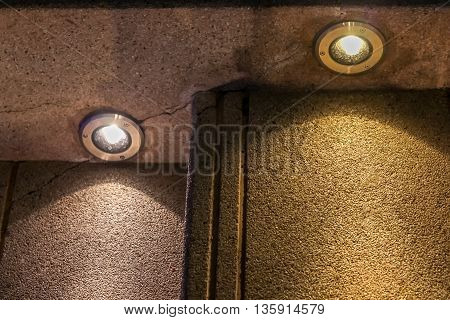 stone sand floor gravel stairway texture closeup old brown detail construction structure rock washed staircase light Led ground concrete cement step surface material bulb up white design pattern background architecture art style shadow black nobody steps