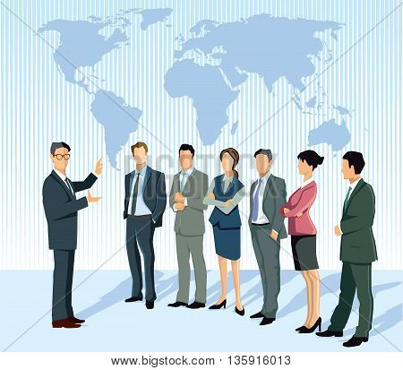 Consulting and lecturing, strategy world, business, cooperation, organization