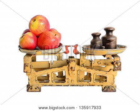 Apples On Old Scales