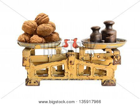 Walnuts On Old Scales