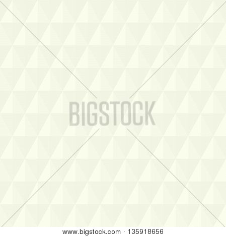 Geometric abstract vector light background. Seamless modern pattern with volume bright rhombuses