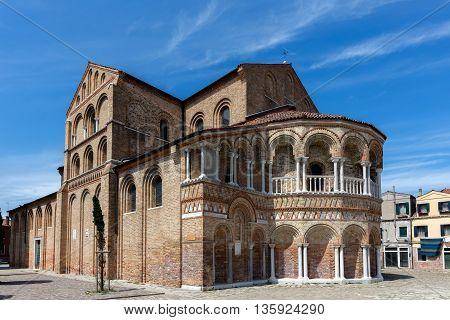 Church Of Santa Maria E San Donato In Murano