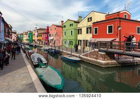 Venetian Island Of Burano