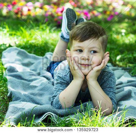 Little Boy Outdoor