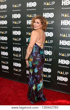 LOS ANGELES - JUN 25:  Justina Machado at the NALIP 2016 Latino Media Awards at the The Dolby on June 25, 2016 in Los Angeles, CA