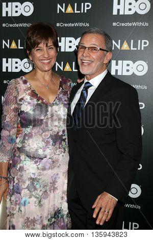 LOS ANGELES - JUN 25:  Ada Maris, Tony Plana at the NALIP 2016 Latino Media Awards at the The Dolby on June 25, 2016 in Los Angeles, CA
