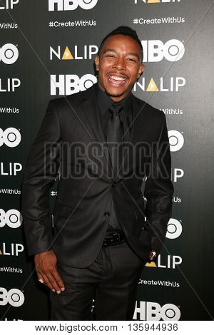 LOS ANGELES - JUN 25:  Allen Maldonado at the NALIP 2016 Latino Media Awards at the The Dolby on June 25, 2016 in Los Angeles, CA