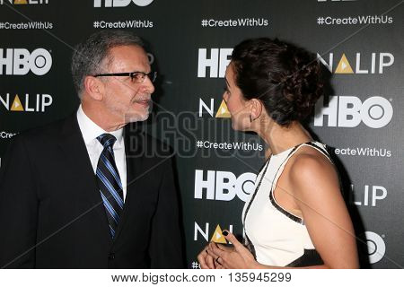 LOS ANGELES - JUN 25:  Tony Plana, Alice Braga at the NALIP 2016 Latino Media Awards at the The Dolby on June 25, 2016 in Los Angeles, CA