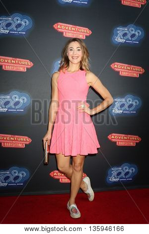LOS ANGELES - JUN 23:  Bonnie Kathleen Ryan at the 100th DCOM Adventures In Babysitting LA Premiere Screening at the Directors Guild of America on June 23, 2016 in Los Angeles, CA