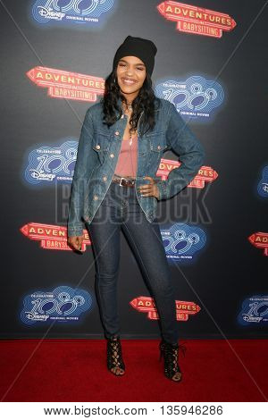LOS ANGELES - JUN 23:  China Anne McClain at the 100th DCOM Adventures In Babysitting LA Premiere Screening at the Directors Guild of America on June 23, 2016 in Los Angeles, CA