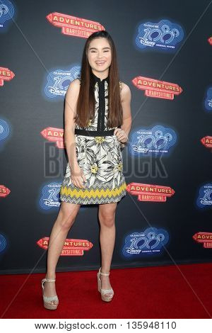 LOS ANGELES - JUN 23:  Landry Bender at the 100th DCOM Adventures In Babysitting LA Premiere Screening at the Directors Guild of America on June 23, 2016 in Los Angeles, CA