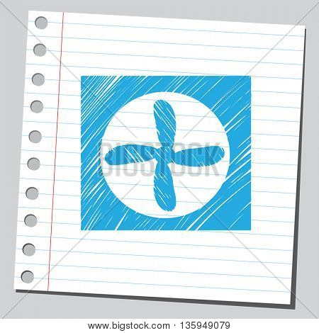 Ventilator symbol