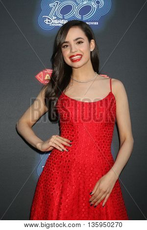 LOS ANGELES - JUN 23:  Sofia Carson at the 100th DCOM Adventures In Babysitting LA Premiere Screening at the Directors Guild of America on June 23, 2016 in Los Angeles, CA