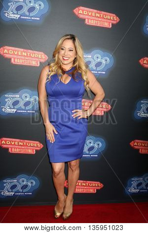 LOS ANGELES - JUN 23:  Sabrina Bryan at the 100th DCOM Adventures In Babysitting LA Premiere Screening at the Directors Guild of America on June 23, 2016 in Los Angeles, CA