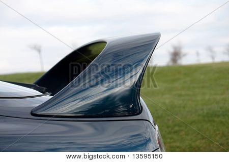Spoiler On A Car