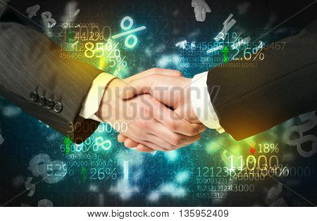 Handshake with number analysis