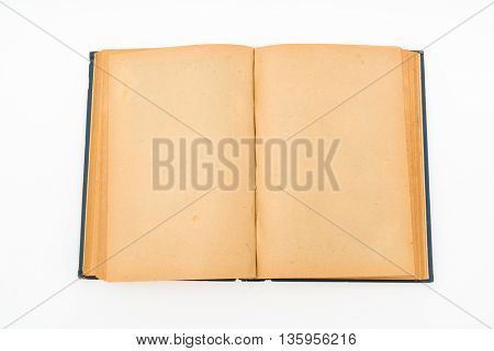 Old book (Ancient book) on white background