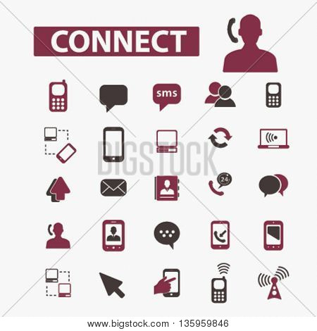 connect icons
