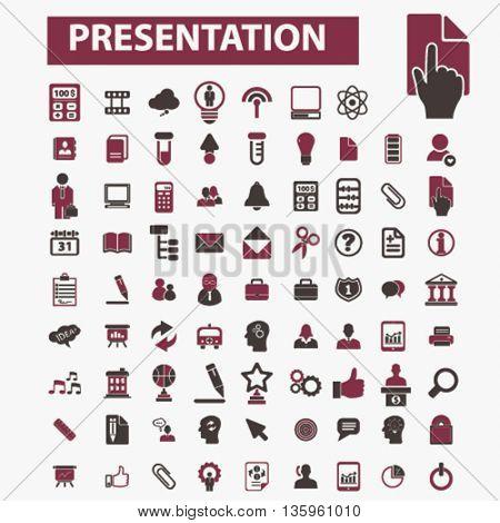 presentation icons