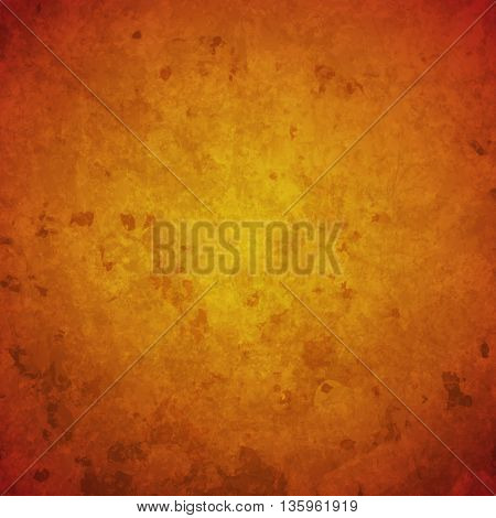 abstract vector grunge background- orange and yellow