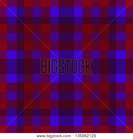 abstract vector tartan seamless - red and violet