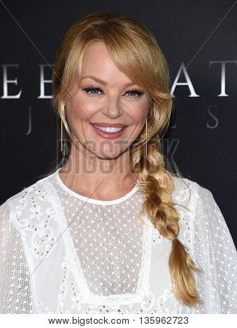 LOS ANGELES - JUN 21:  Charlotte Ross arrives to the