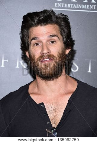 LOS ANGELES - JUN 21:  Johnny Whitworth arrives to the