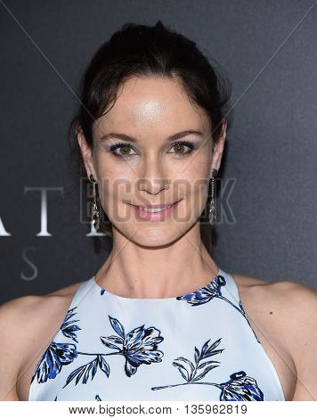 LOS ANGELES - JUN 21:  Sarah Wayne Callies arrives to the