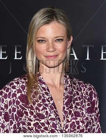 LOS ANGELES - JUN 21:  Amy Smart arrives to the