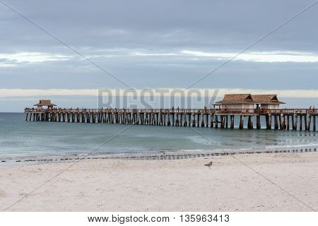 The Pier in Naples, Florida on the Gulf of Mexico