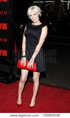 Brea Grant at the Los Angeles premiere of 'Max Payne' held at the Grauman's Chinese Theater in Los Angeles, USA on October 13, 2008.