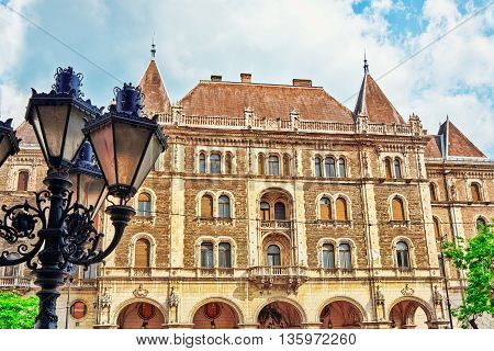 Dreschler Palace-gorgeous Building In Front Of The Opera In Budapest.hungary