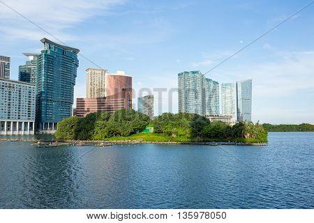 Macau city, Lago Nam Van