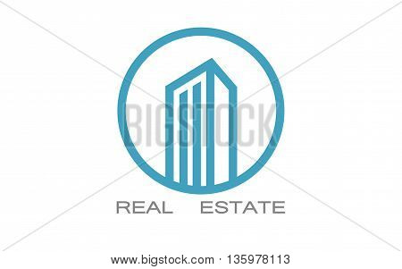 Vector real estate logo designs for business on white background