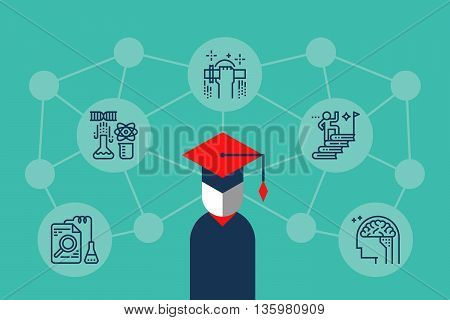 Education Knowledge Illustration