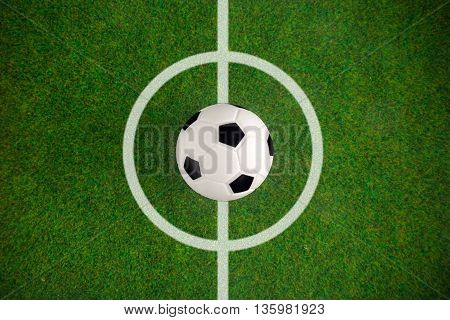 Soccer football field stadium grass ball background