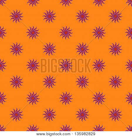 Flowers geometric seamless pattern. Fashion graphic background design. Modern stylish abstract texture. Colorful template for prints textiles wrapping wallpaper website etc.